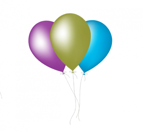 590x545 Image Of Birthday Balloons Clipart