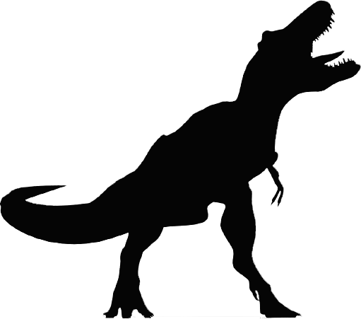 511x451 Fossil Clipart Silhouette