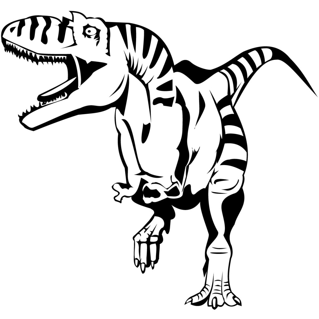 Dinosaur Bones Template | Free download on ClipArtMag