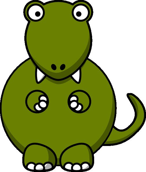 504x595 Dinosaur Clip Art Free Vector 4vector