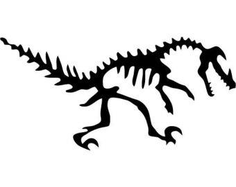 340x270 Dinosaur Fossil Clipart