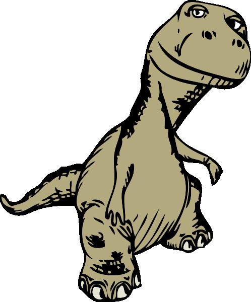 498x600 Dinosaur clip art Free Vector 4Vector