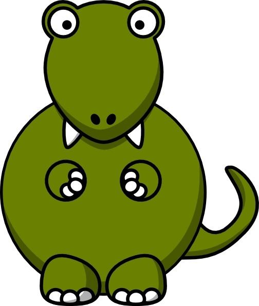 504x595 Dinosaur clip art Free vector in Open office drawing svg ( svg