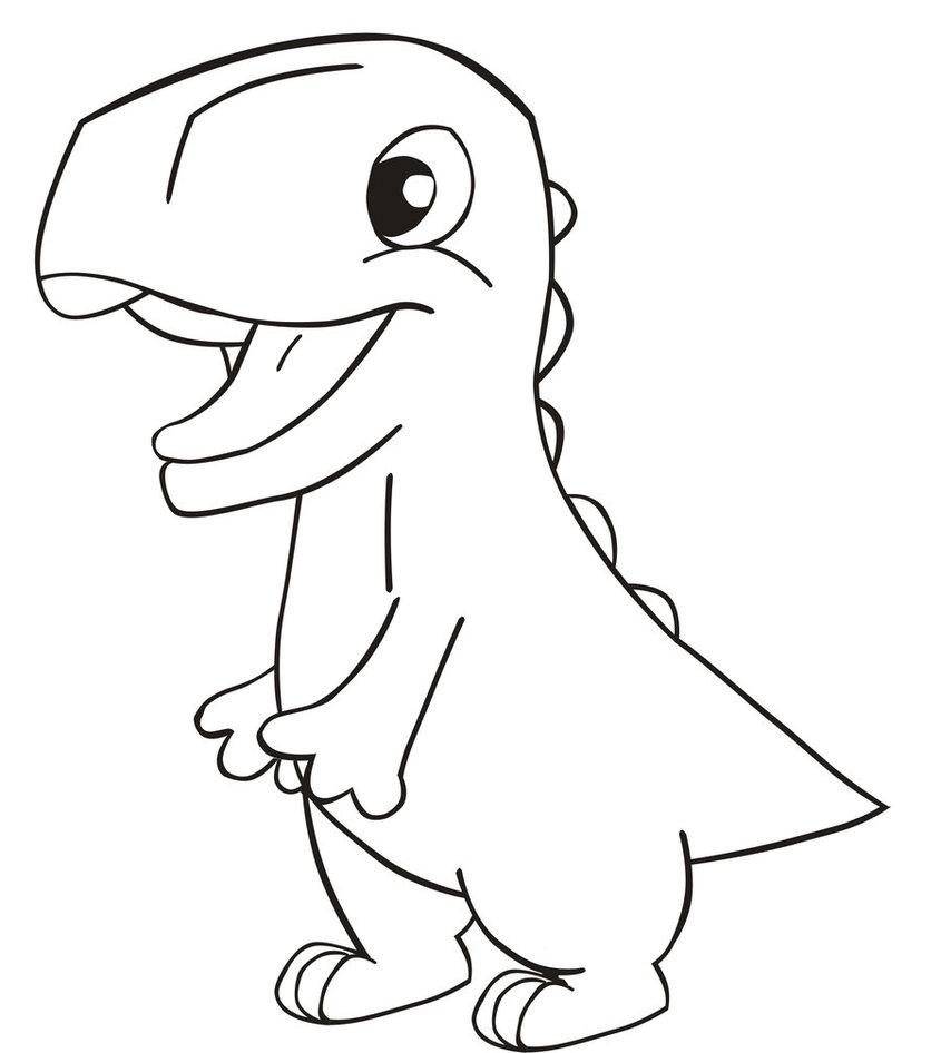 845x946 Drawing Of A Dinosaur Dinosaur Drawing Free Download Clip Art