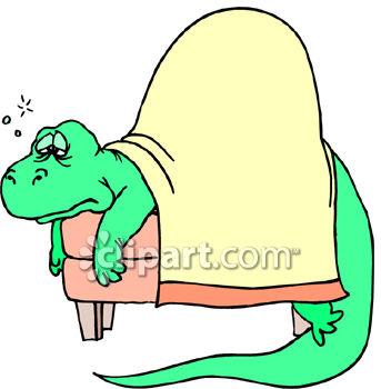 343x350 Sick Dinosaur