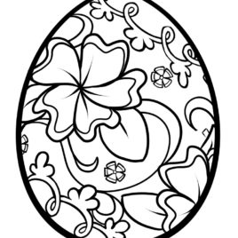 268x268 Dinosaur Egg Coloring Page Clipart Panda Free Clipart Images