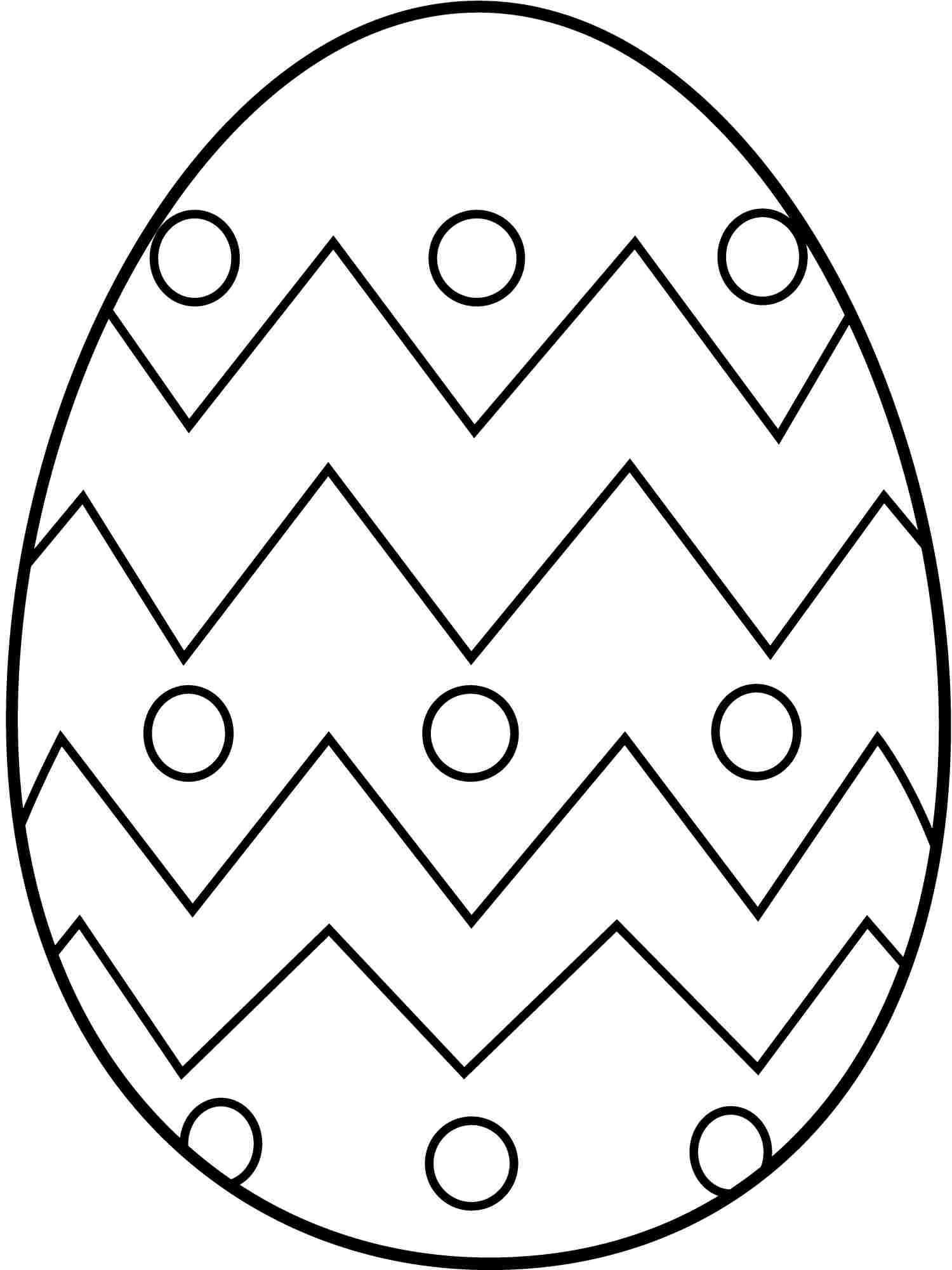 1500x2000 Elegant Easter Egg Coloring Pages Free Printable Coloring Pages