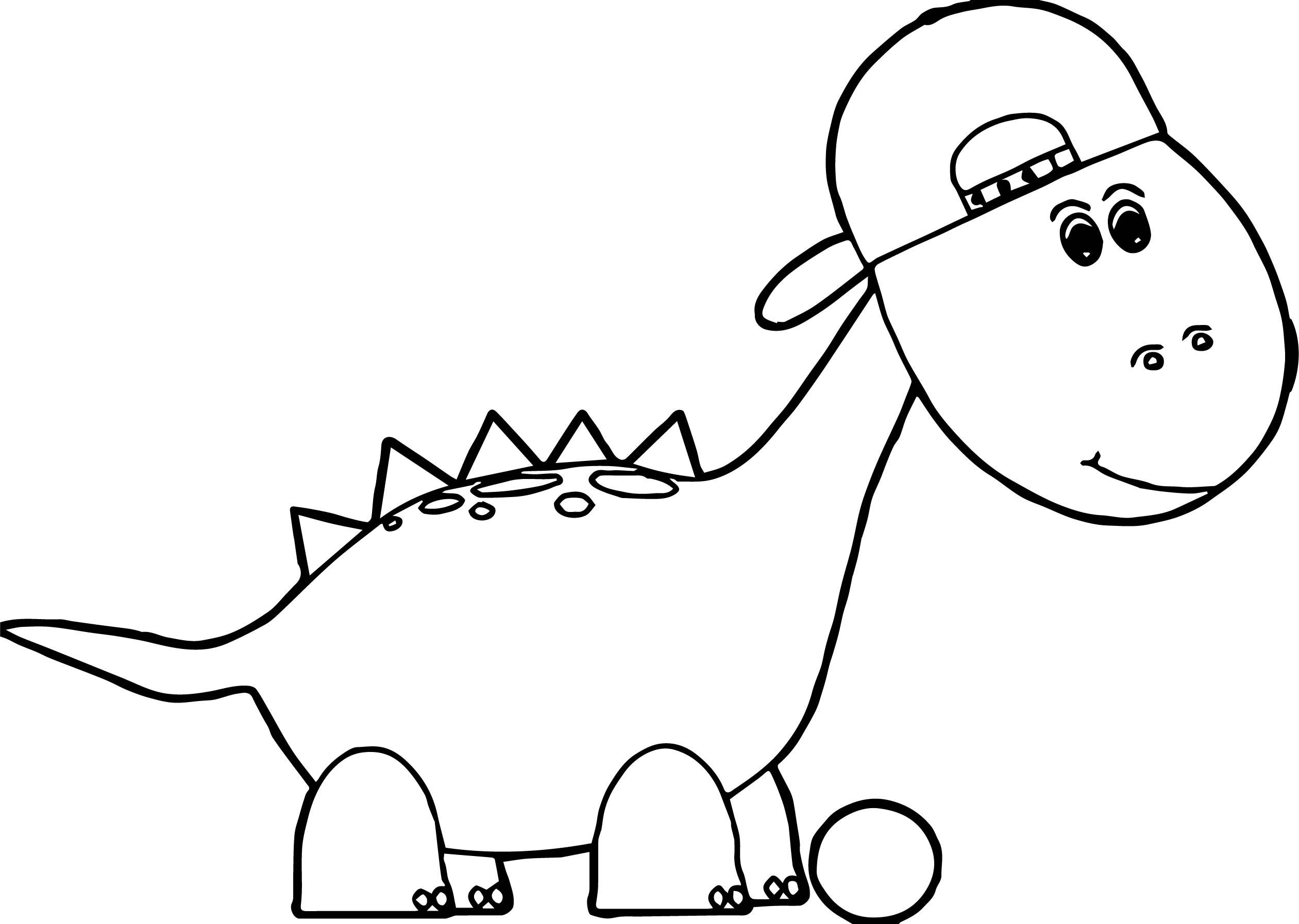 2521x1794 Baseball Dinosaur Coloring Page Wecoloringpage