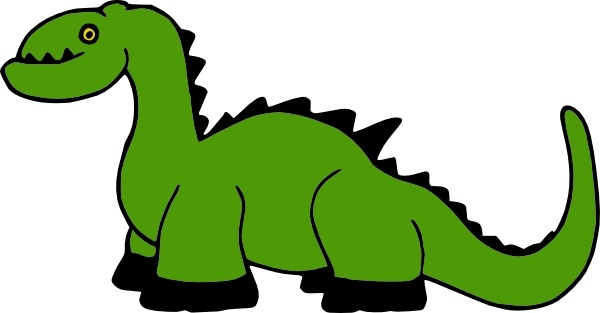 600x313 Dinosaur Cartoon Clip Art Free Vector In Open Office Drawing Svg