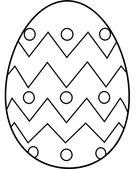570x706 Free Egg Free Clip Art Of Egg Clipart Black And White 0 Easter