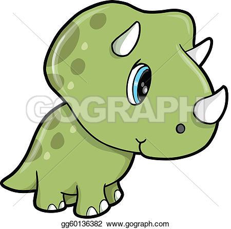 450x446 Clipart Baby Dinosaur