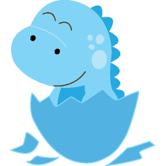 240x240 Baby Dinosaur Clipart