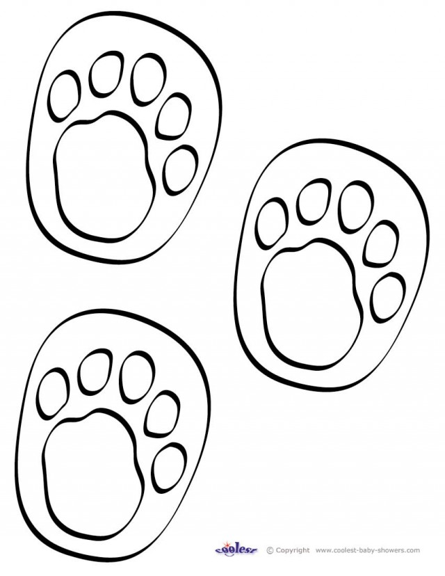 640x828 footprint coloring pages