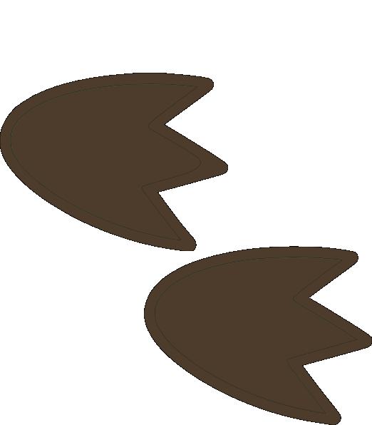 522x596 Dino Foot Print Clip Art