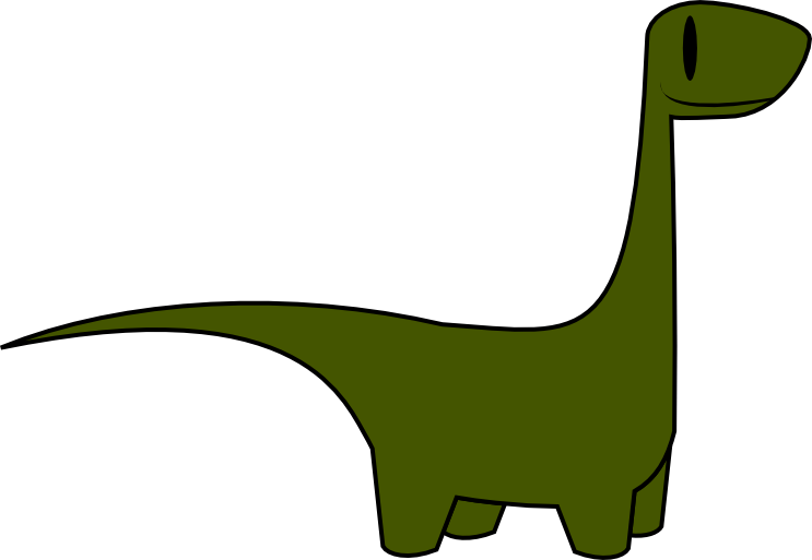 743x513 Dinosaur Free To Use Clipart