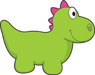 190x149 Clip Art Dinosaur