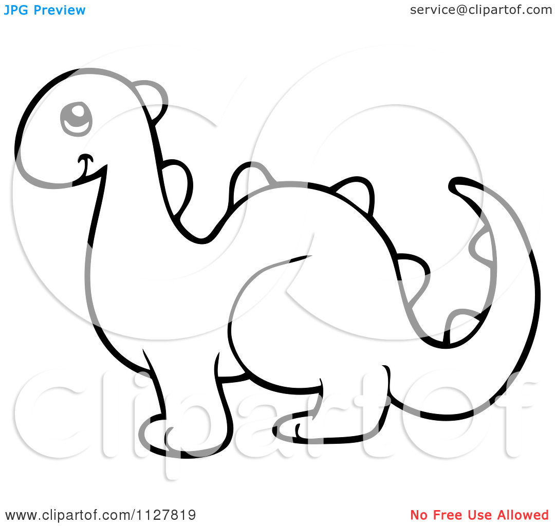 1080x1024 Dinosaur Outline Clip Art