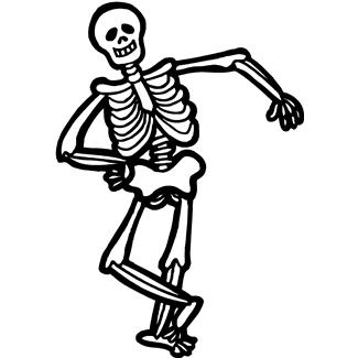 325x325 Skeleton Clip Art For Kids Free Clipart Images