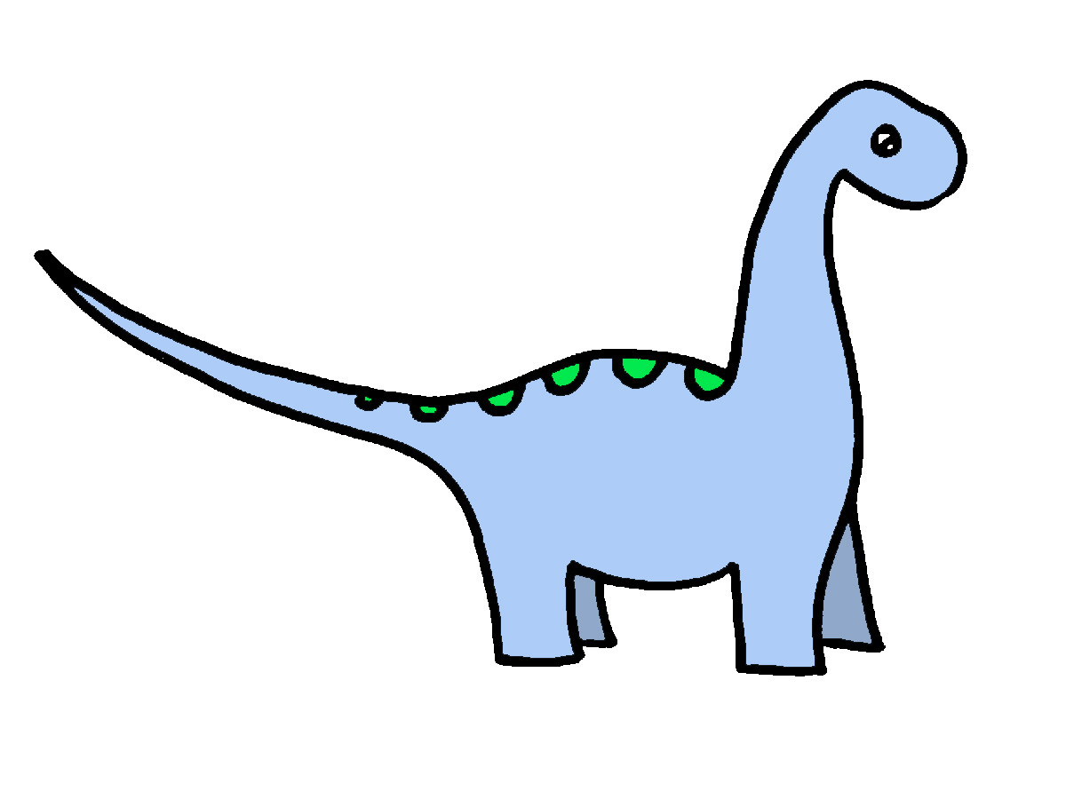1200x900 Brachiosaurus Clipart Fossil