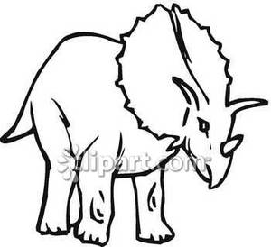 300x274 Of A Triceratops Dinosaur