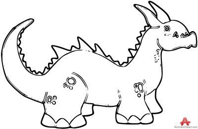 400x261 Brachiosaurus Clipart Dinosaur Outline
