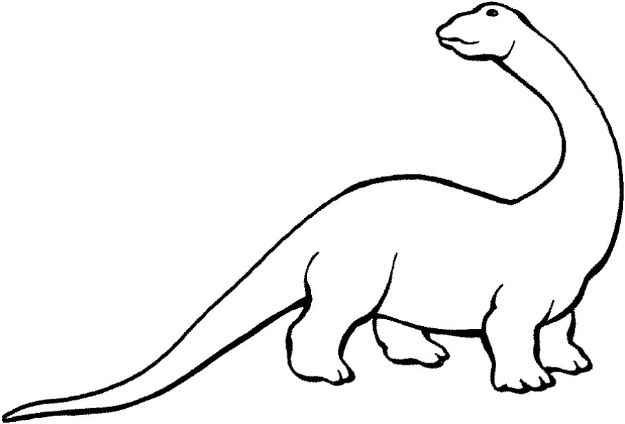 Dinosaur Outlines