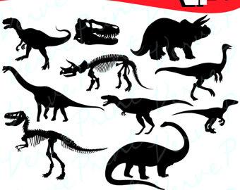 340x270 Digital Svg Png Dinosaurs, Skeleton, Prehistoric Animal