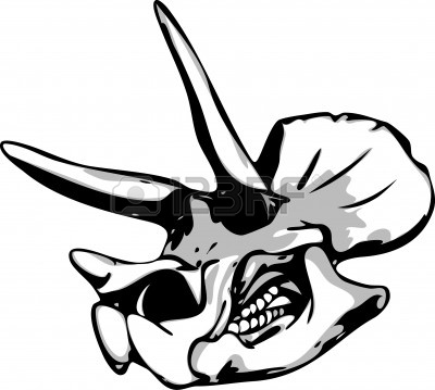 400x359 Fossil Clipart Dino