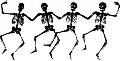 393x200 Skeleton Clipart Free