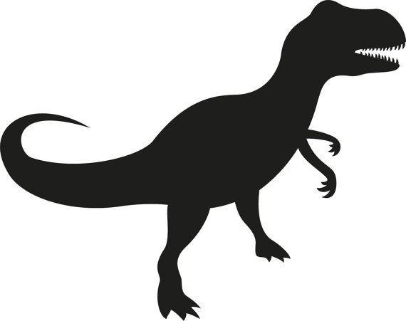 570x451 T Rex Dinosaur Silhouette Clipart