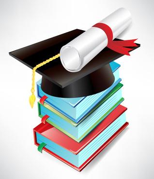 318x368 Free Graduation Cap And Diploma Clip Art Free Vector Download 2