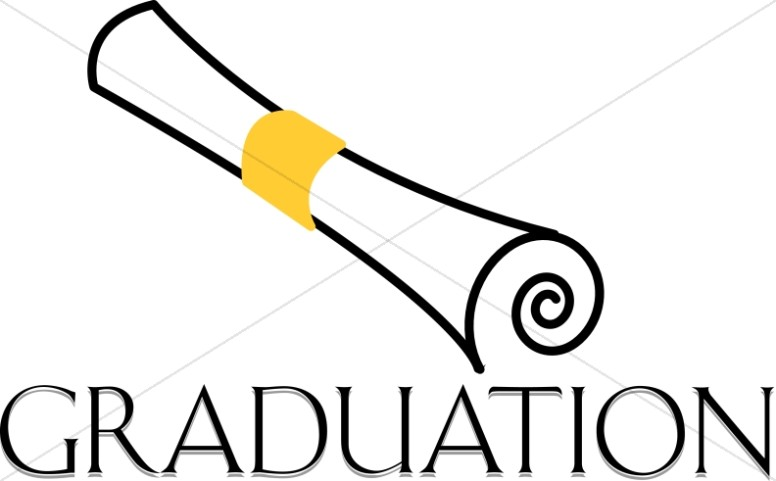 776x481 Graduation Cap And Diploma Christian Clipart Images