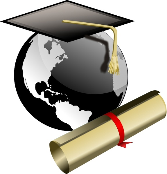 575x600 Graduation Scroll Free Vector Download (1,137 Free Vector)