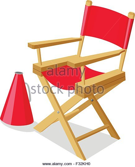 435x540 Movie Director Chair Stock Photos Amp Movie Director Chair Stock