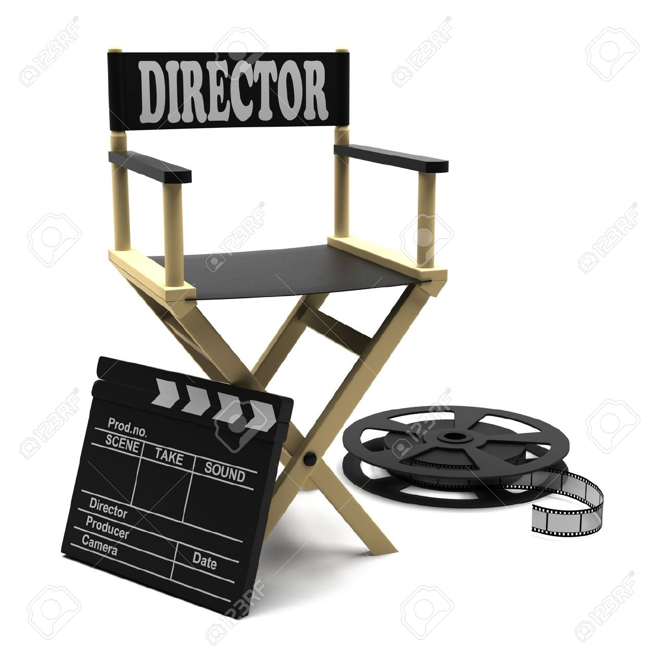 Director Chair Clipart Free Download Best Director Chair