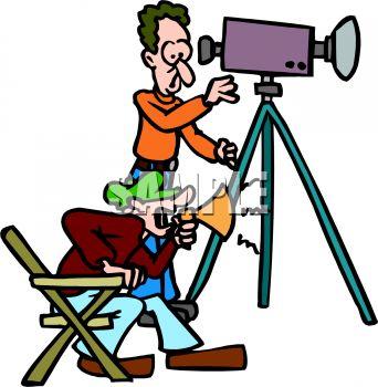 342x350 Director And Cameraman
