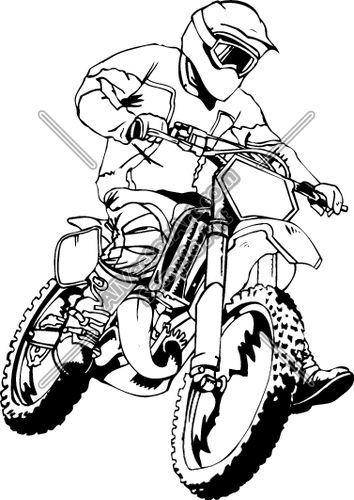 354x500 The Best Dirt Bike Tattoo Ideas Motorcycle