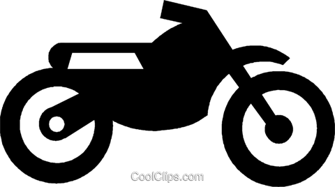 480x268 Dirt Bike Royalty Free Vector Clip Art Illustration Vc022389