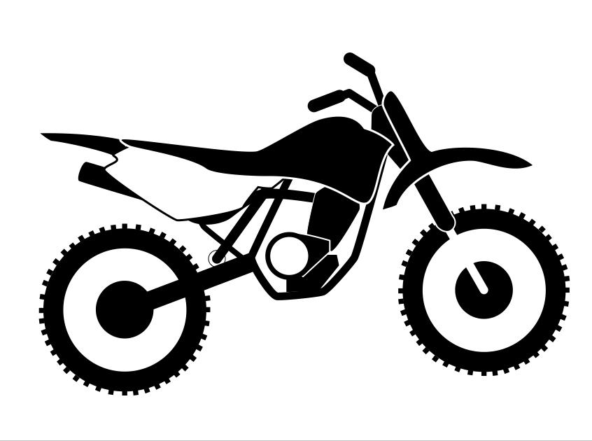 846x630 Dirt Bike Clipart Vector Dirt Bike Clip Art Library Download