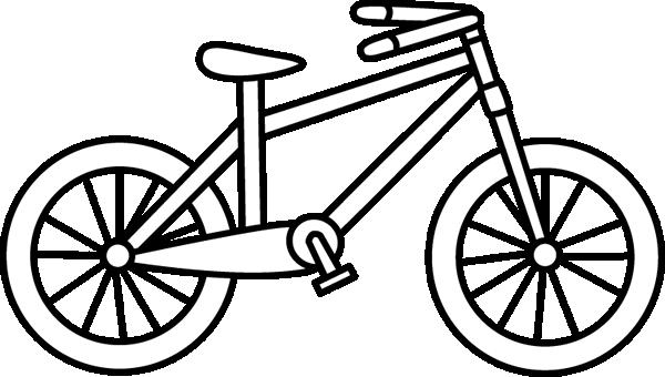600x340 Bike Clipart