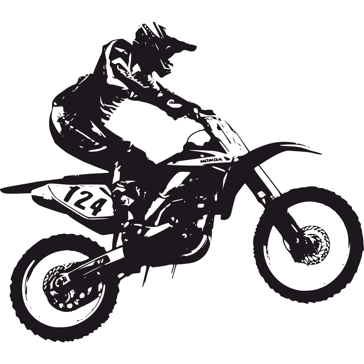 1200x1200 Bike Clipart Motorcross