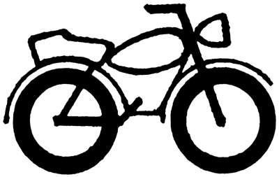400x253 Biker Clipart Honda Motorcycle