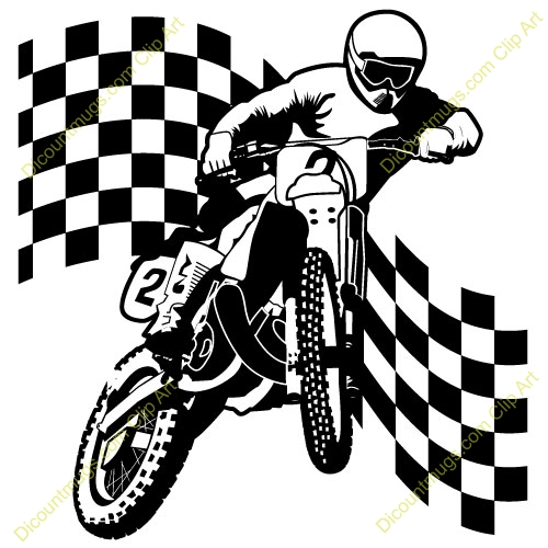 500x500 Dirt Bike Clipart Black And White Clipart Panda Free Clipartfree