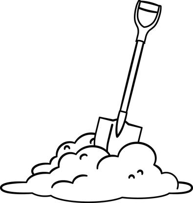 395x416 Dirt Clipart Shovel Dirt