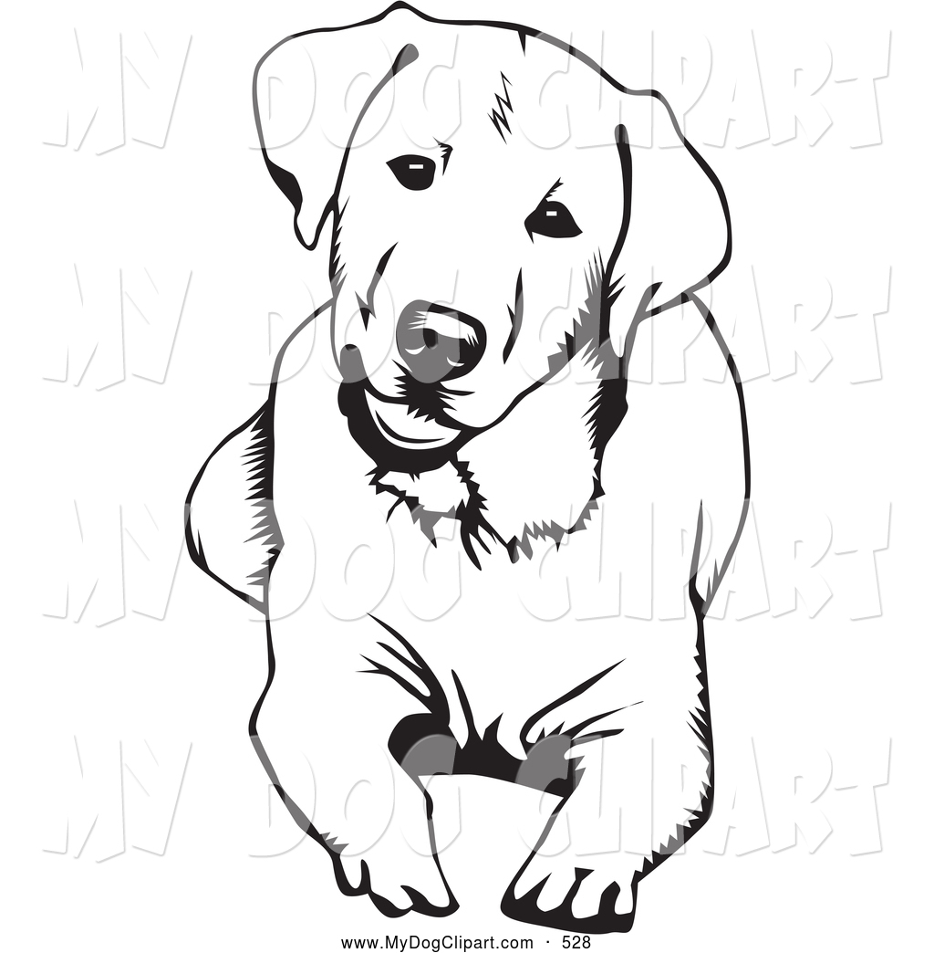 1024x1044 Dog Clip Art Black And White Clipart Panda