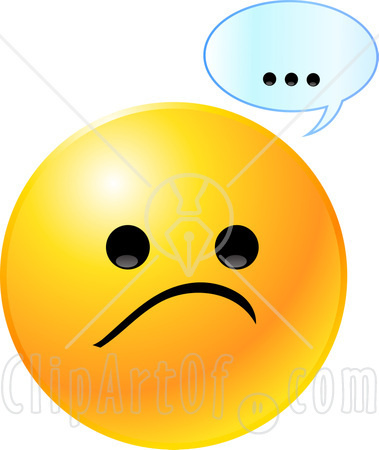 379x450 Disappointed Smiley Clipart