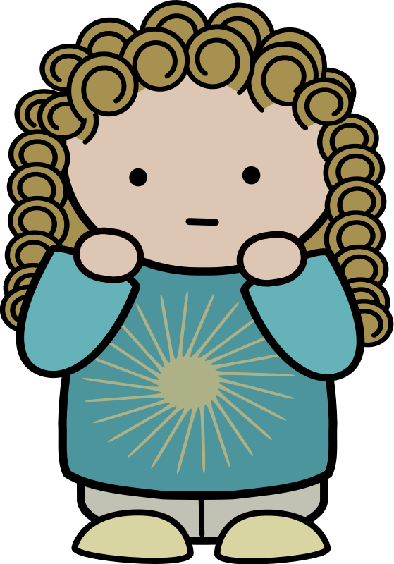 559x800 Free Disappointed Little Girl Clip Art