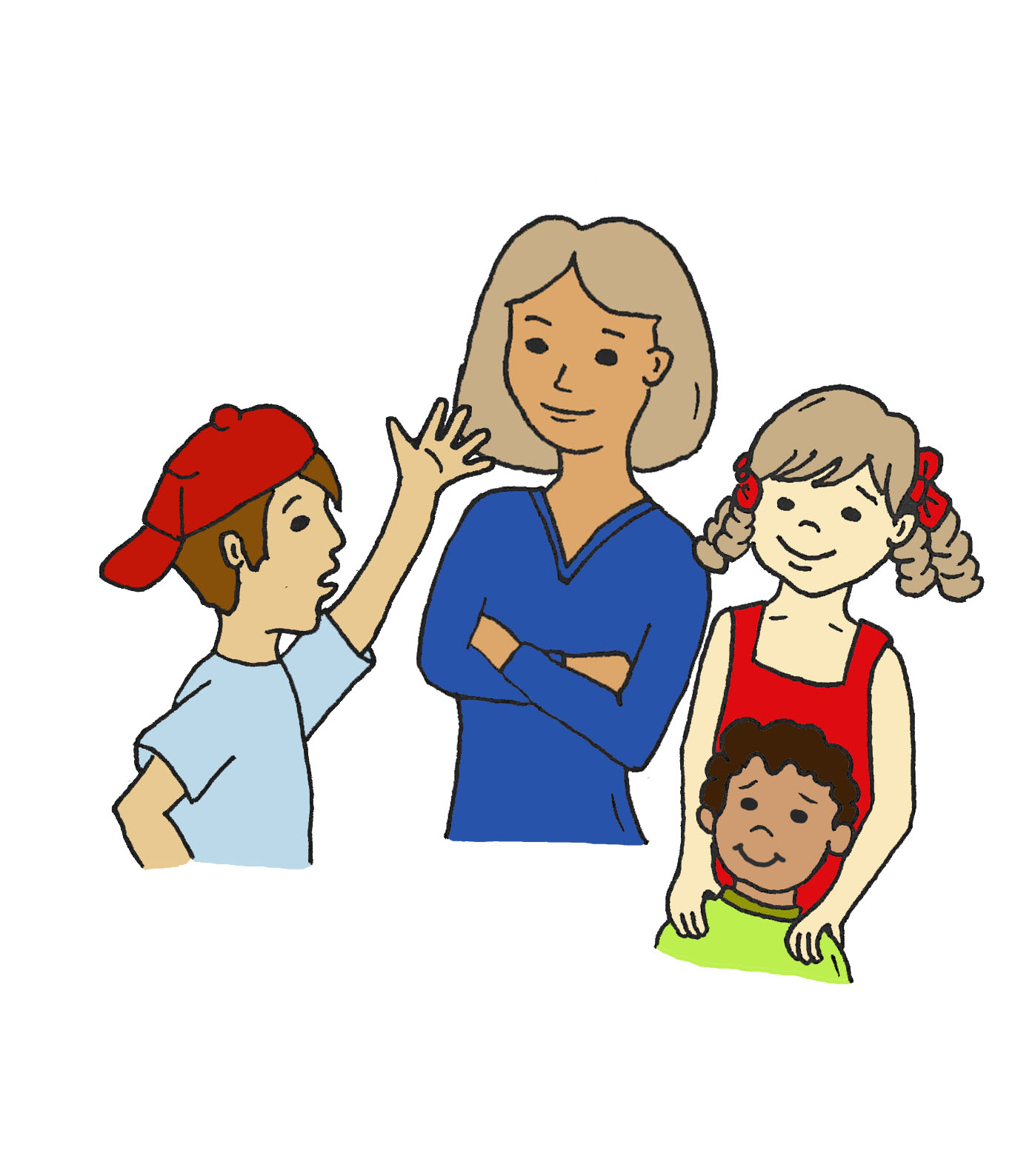 1397x1588 Positive Parenting Clipart
