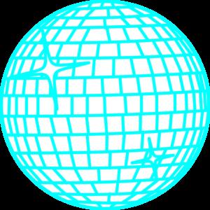 300x300 Snow Disco Ball Rand Schmal Weiss Blau Negativ Clip Art
