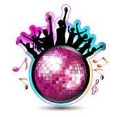 170x170 Disco Ball Clip Art